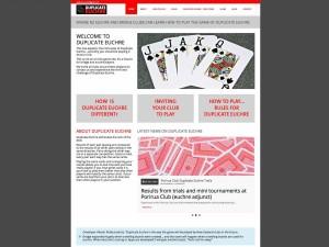 Duplicat Euchre website