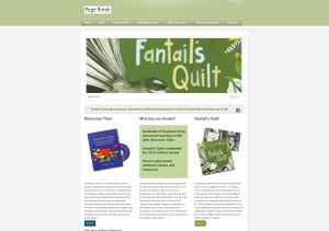 Pagebreak website home page